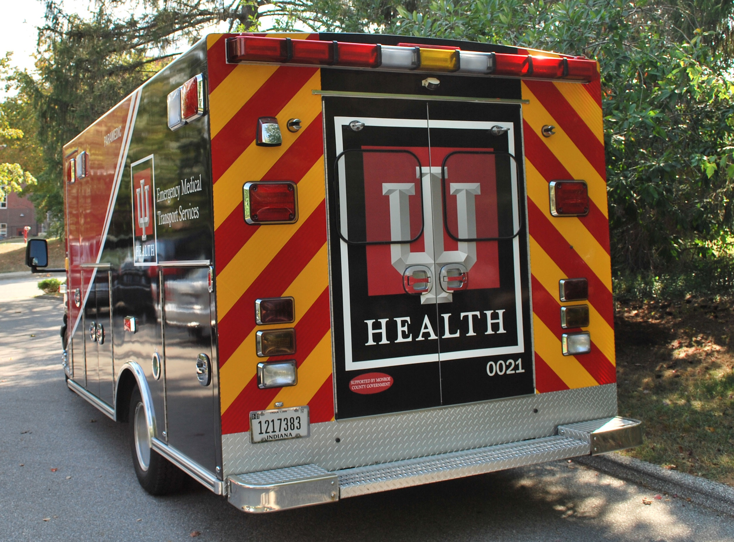 After a 1-year trial with a competitor, Bloomington Hospital EMS went back to Road Safety